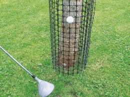 Bissschutz und Golfballschutz